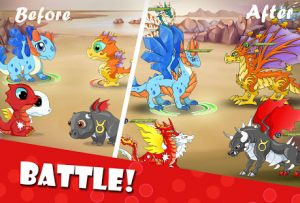 Dragon battle mod apk android 12.00 screenshot