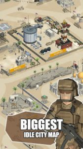 Idle Warzone 3d Military Game Army Tycoon MOD APK Android 1.2.1 Screenshot