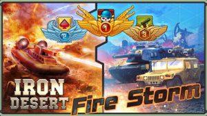 Iron Desert Fire Storm MOD APK Android 6.5 Screenshot