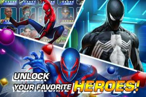 MARVEL Puzzle Quest Join The Super Hero Battle MOD APK Android 214.547485 Screenshot