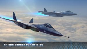 Modern Warplanes Sky Fighters PvP Jet Warfare MOD APK Android 1.15.0 Screenshot
