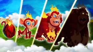 Monster Legends Breed & Merge Heroes Battle Arena MOD APK Android 10.5.3 Screenshot