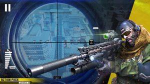 New sniper shooter free offline 3d shooting games mod apk android 1.84 screenshot
