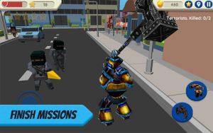 Robot Hero City Simulator 3D MOD APK Android 1.036 Screenshot