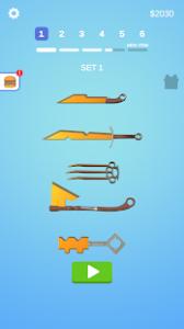Sharpen blade mod apk android 1.24.0 screenshot