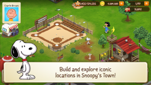 Snoopy's town tale city building simulator mod apk android 3.7.3 screenshot