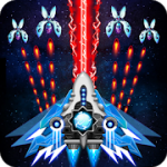 Space shooter Galaxy attack Galaxy shooter MOD APK android 1.470