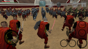 Spartacus Gladiator Roman Arena Hero Clash MOD APK Android 1.0 Screenshot