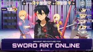 Sword Art Online Alicization Rising Steel MOD APK Android 2.0.2 Screenshot