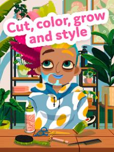 Toca hair salon 4 mod apk android 1.8.0 play screenshot