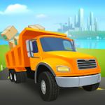 Transit King Tycoon Seaport and Trucks MOD APK android 4.0