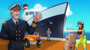 Transit king tycoon seaport and trucks mod apk android 4.0 screenshot