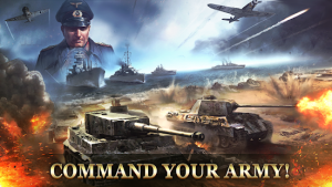 WW2 Strategy Commander Conquer Frontline MOD APK Android 2.7.9 Screenshot