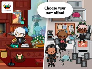 Toca life office mod apk android 1.3 play screenshot