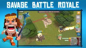 Dinos royale multiplayer battle royale legends mod apk android 1.10 screenshot