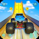 Monster Truck Mega Ramp Stunts Extreme Stunt Games MOD APK android 1.35