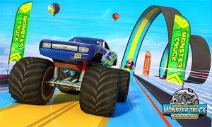 Monster truck mega ramp stunts extreme stunt games mod apk android 1.38 screenshot