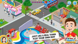 My town play & discover city builder game mod apk android 1.23.13 screenshot