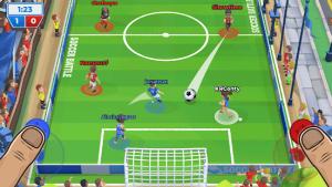 Soccer battle 3v3 pvp mod apk android 1.15.6 screenshot