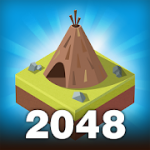 Age of 2048 Civilization City Merge Games MOD APK android 1.7.2
