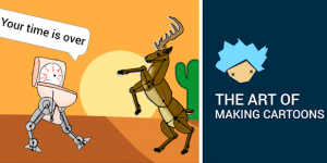 Draw cartoons 2 animated video maker mod apk android 2.41 screenshot
