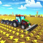 Farming .io 3D Harvester Game USA MOD APK android 7.0