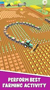 Farming .io 3d harvester game usa mod apk android 7.0 screenshot