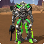 Robot War Free Fire Survival battleground Squad MOD APK android 1.0