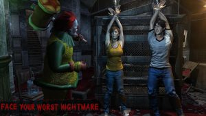Horror clown survival scary games 2020 mod apk android 1.34 screenshot