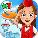 My Town Airport. Free Airplane Games for kids MOD APK android 1.02