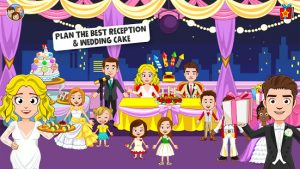 My town wedding day the wedding game for girls mod apk android 1.52 screenshot
