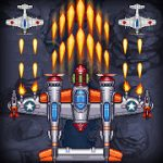 1945 Air Force Classic sky shooting games MOD APK android 8.56