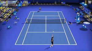 3d tennis mod apk android 1.8.2 screenshot