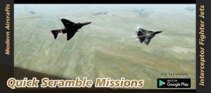 Air scramble interceptor fighter jets mod apk android 1.8.0.6 screenshot