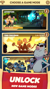 Almost a hero idle rpg clicker mod apk android 4.7.1 screenshot