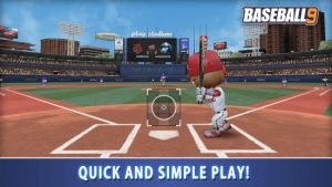 Baseball 9 mod apk android 1.6.8 screenshot