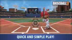 Baseball 9 mod apk android 1.7.4 screenshot