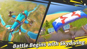 Battlefield royale the one mod apk android 0.4.5 screenshor