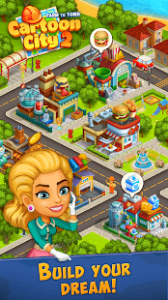 Cartoon city 2 farm to town build your dream home mod apk android 2.27 screenshot