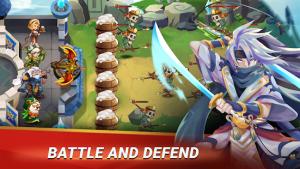 Castle defender hero idle defense td mod apk android 1.9.0 screenshot