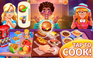 Cooking craze the global kitchen cooking game mod apk android 1.73.0 screenshot