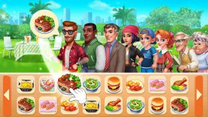 Cooking frenzy restaurant cooking game mod apk android 1.0.53 screenshot