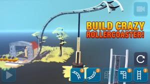 Craft & ride roller coaster builder mod apk android 1.3.7 screenshot