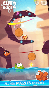 Cut the rope 2 mod apk android 1.33.0 screenshot