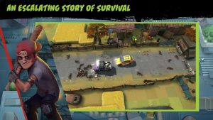 Deadly convoy zombie defense mod apk android 1.0.2 screenshot