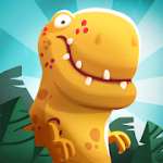 Dino Bash  Dinosaurs v Cavemen Tower Defense Wars MOD APK android 1.5.2