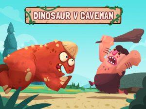 Dino bash dinosaurs v cavemen tower defense wars mod apk android 1.5.2 screenshot