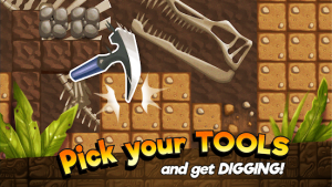 Dino quest dig & discover dinosaur game fossils mod apk android 1.8.5 screenshot