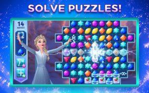 Disney frozen adventures customize the kingdom mod apk android 17.0.1 screenshot