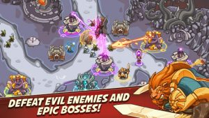 Empire warriors tower defense td strategy games mod apk android 2.4.18 screenshot